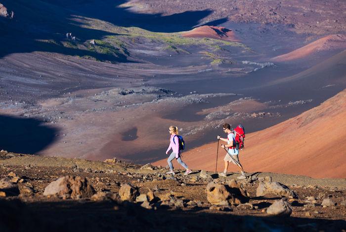 fare escursioni sul vulcano Haleakala
