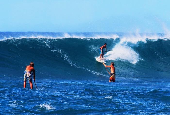 fare surf ad Oahu