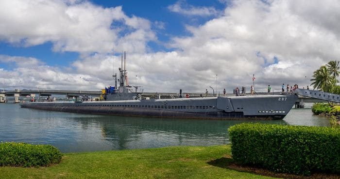 Sottomarino Uss Bowfin