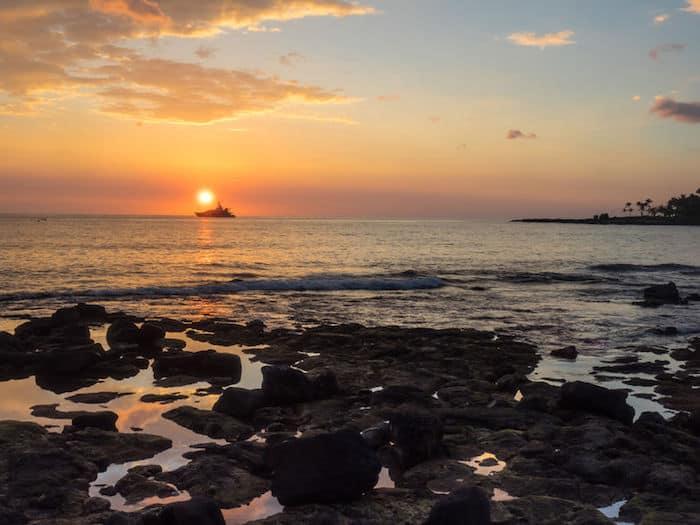 tramonto kailua kona