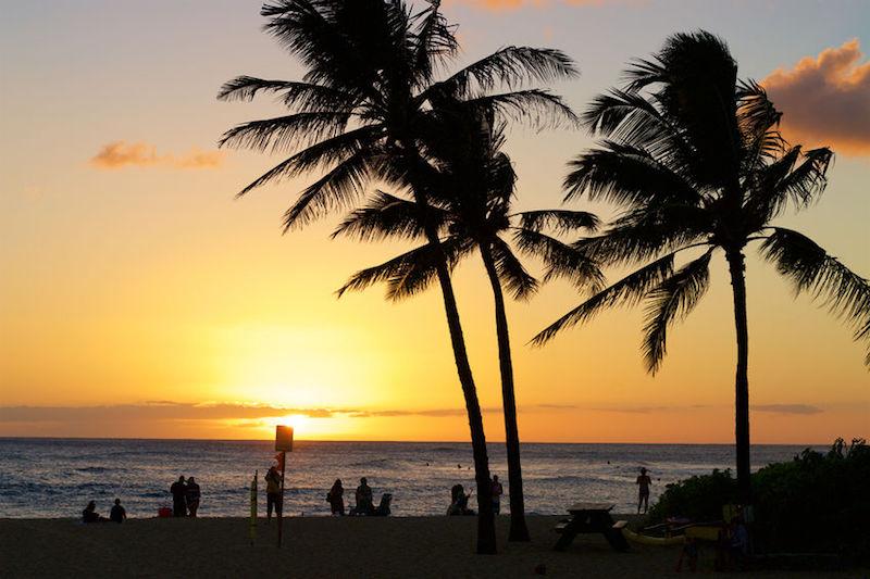 migliori tramonti alle Hawaii