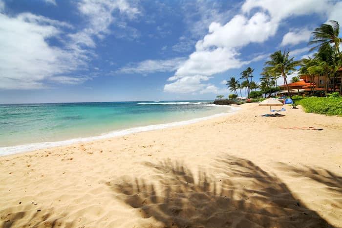 spiaggia a Kauai